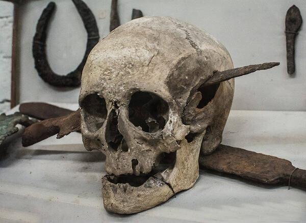 Римский солдат, погибший во время Галльских войн Юлия Цезаря