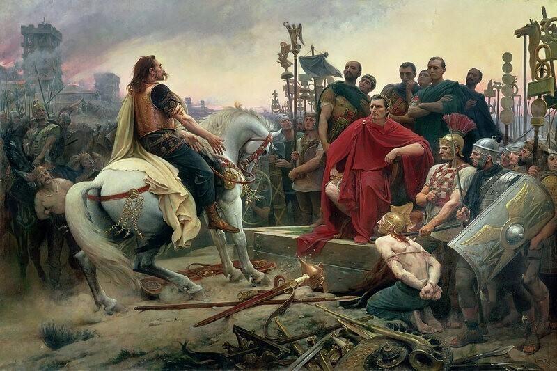 В римские времена брюки ассоциировались с варварами. В 397 году за ношение брюк в черте города предусматривалось наказание в виде ссылки