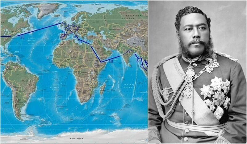 Последний король Гавайев был избран народным голосованием. Он путешествовал по миру и популяризировал хулу, укулеле и серфинг
