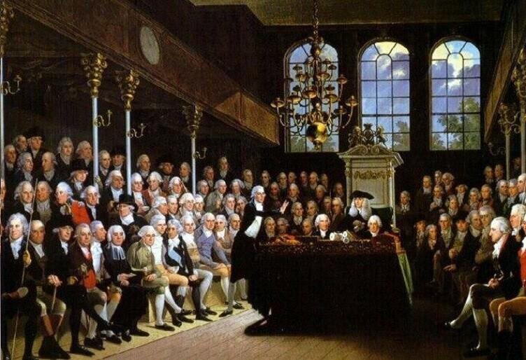 Во время финансового кризиса 1720 года британский парламент обсуждал резолюцию о том, чтобы зашивать банкиров в мешки со змеями и бросать в Темзу
