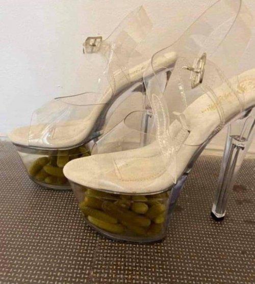 Обувь с закуской