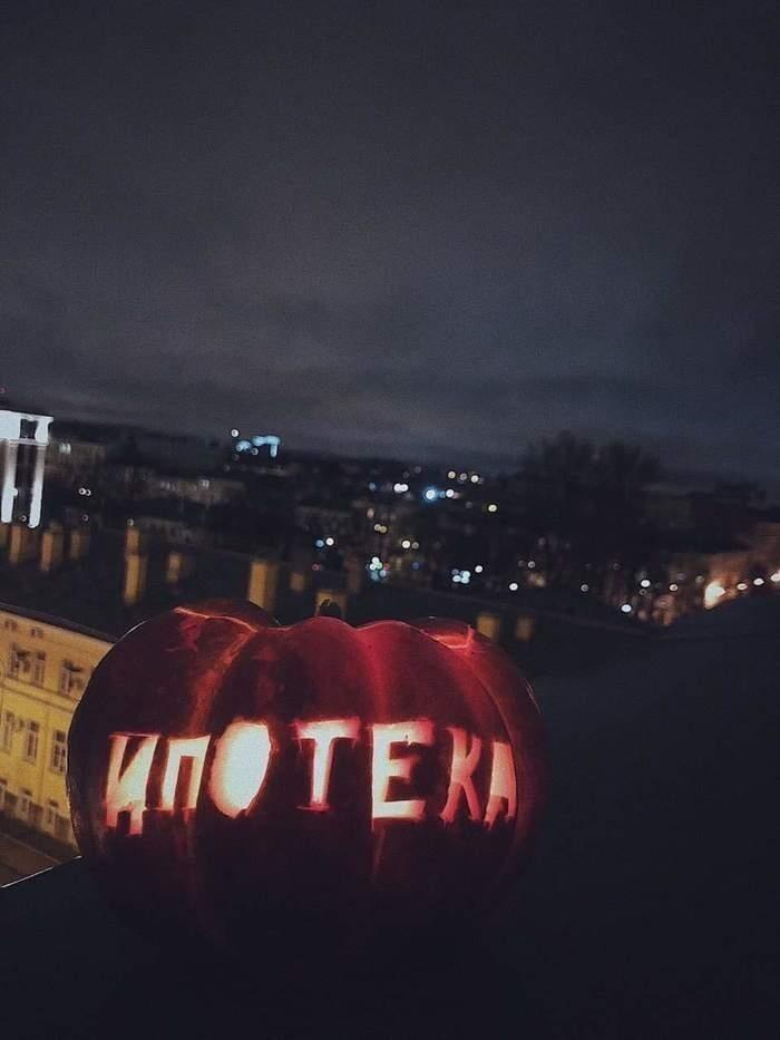 Самая страшная тыква на Хэллоуин
