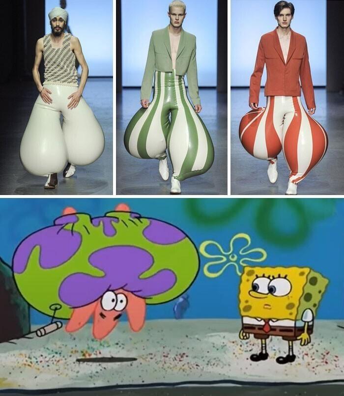 Ох уж эти модники!
