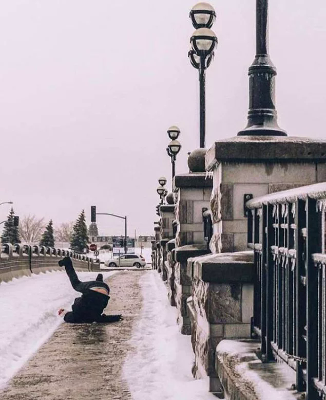 Снег и гололёд застали коммунальные службы врасплох