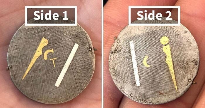 Нашел это среди амулетов в коллекции старинных украшений. Что за вещь?