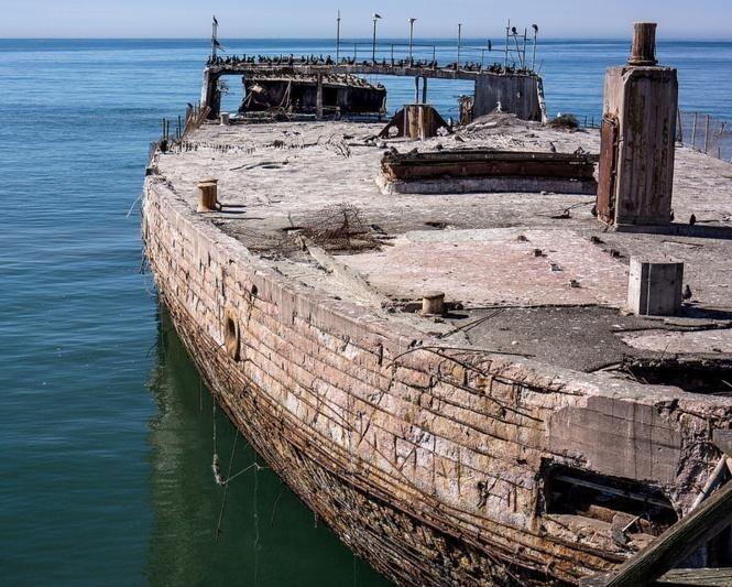 Зачем строили корабли из бетона?