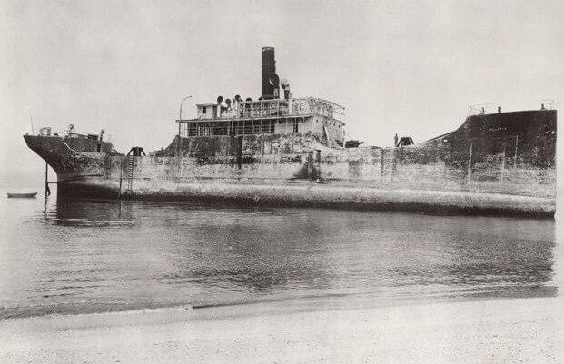 Настоящей сенсацией стало самоходное железобетонное морское судно (Namsenfijord), изобретенное норвежским инженером Николаем Фегнером в 1917 году.