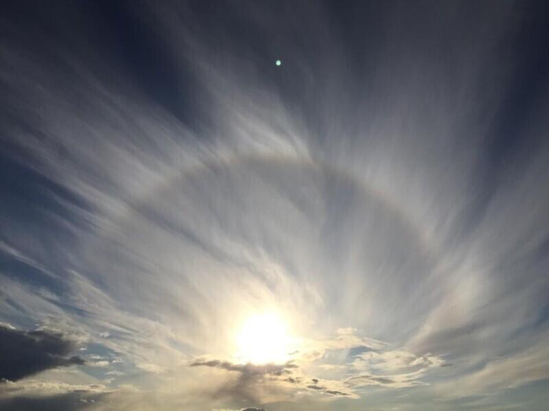 Круги в небе - это не происки пришельцев. Такое редкое явление называется гало
