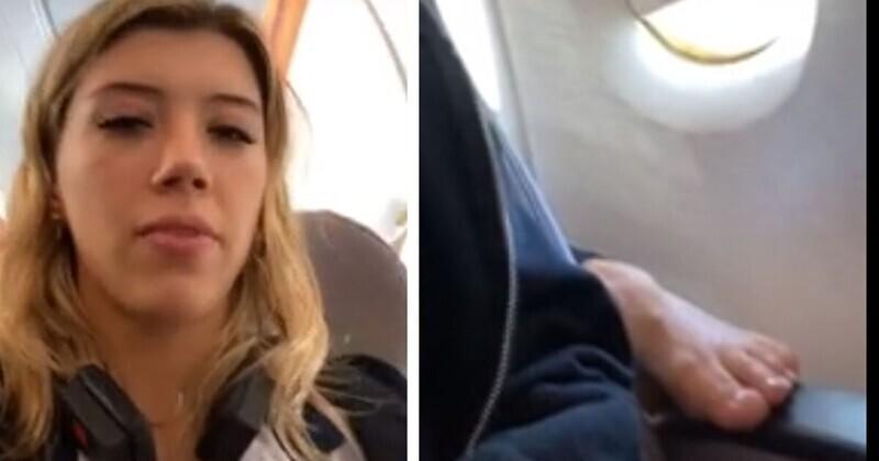 Находчивая девушка не стала терпеть хамство на борту