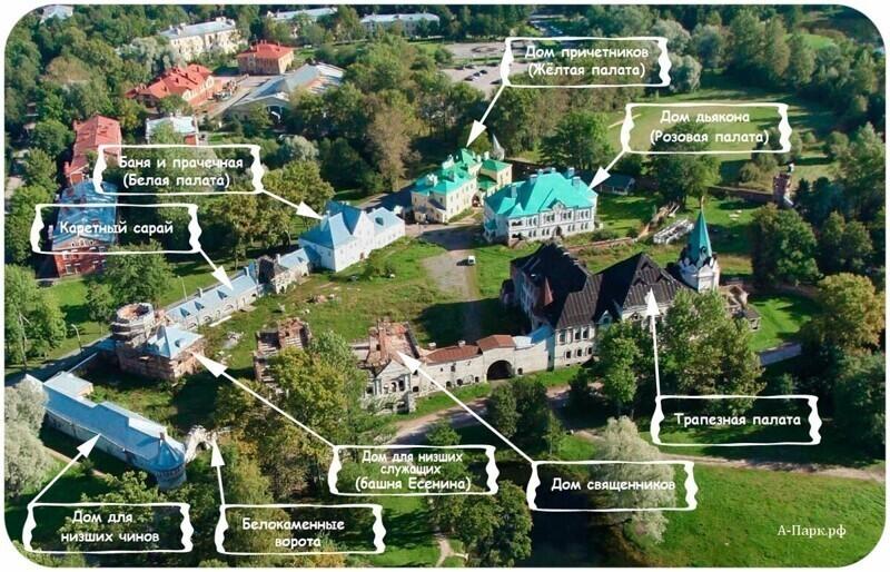 Будущая резиденция в Ленинградской области