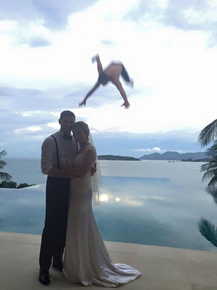 Лучшее фото со свадьбы
