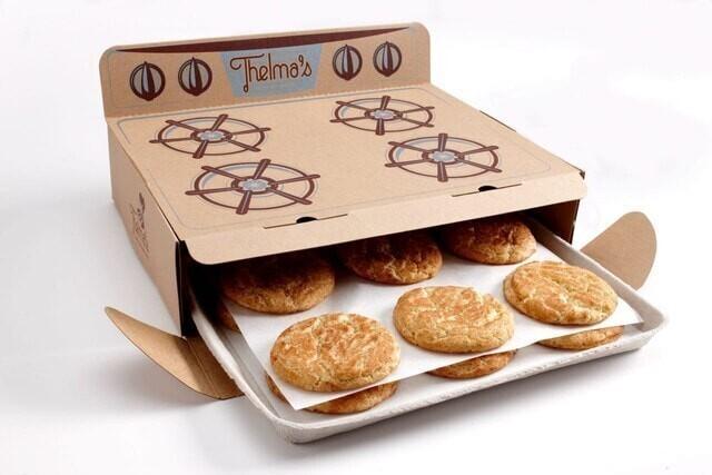 Упаковка для печенья в виде плиты