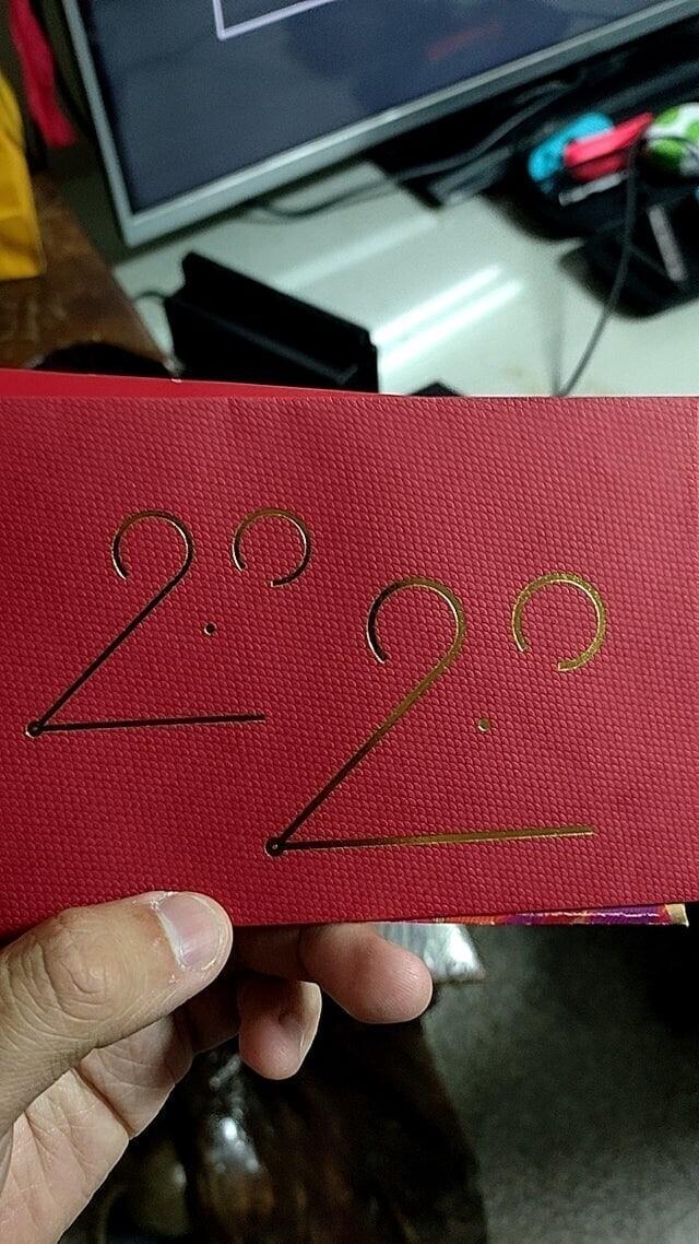 Дизайн конверта, посвящённый 2020 году, символ которого — крыса