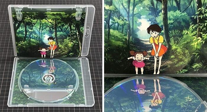 Кейс для DVD от студии Ghibli