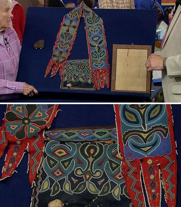 Сумка племени чероки из 1800-х, оцененная в 145 тысяч долларов
