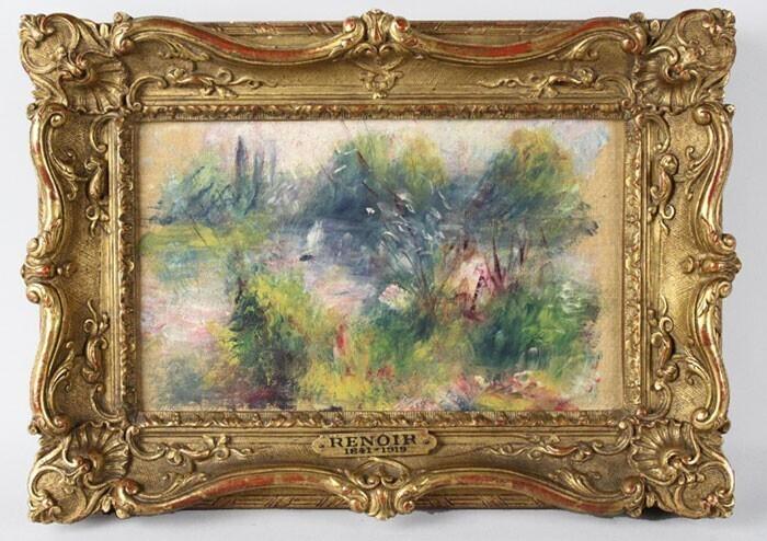 Картина Пьера-Огюста Ренуара за 63 тысячи долларов