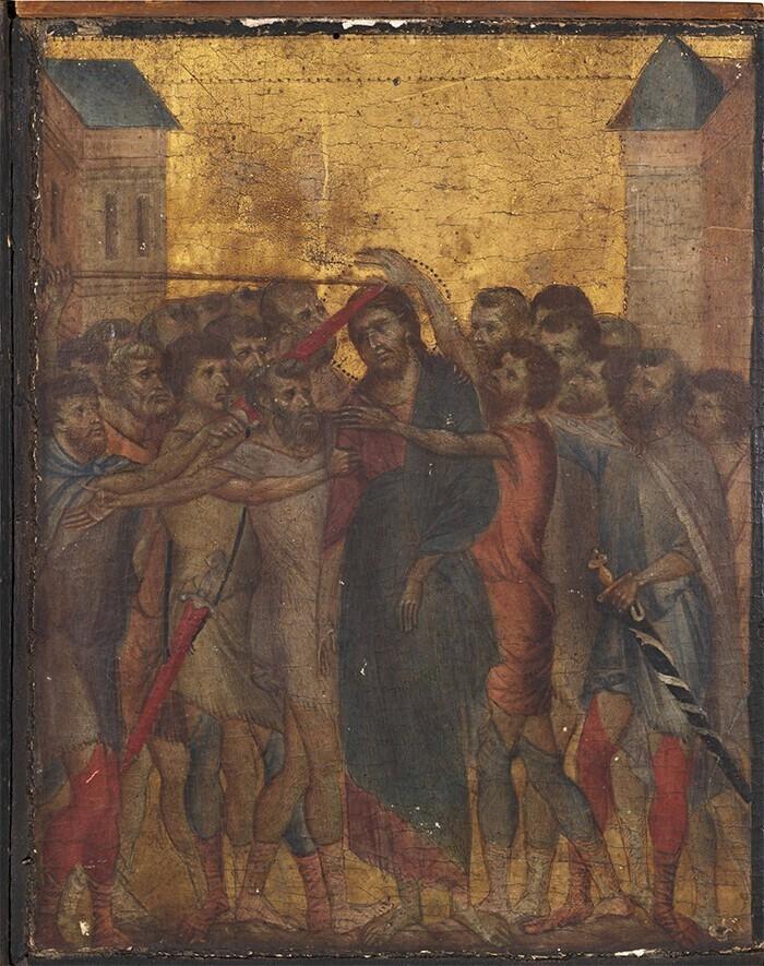 """Картина """"Осмеяние Христа"""" стоимостью 6,6 миллиона долларов"""