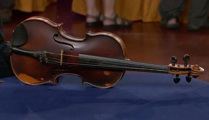 Скрипка Джузеппе Педраццини