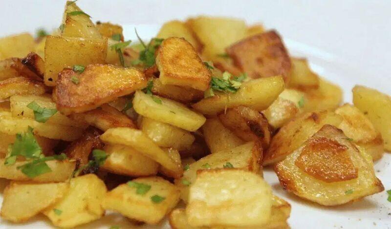17. Жареный картофель