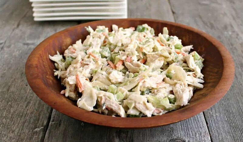 9. Грузинский куриный салат