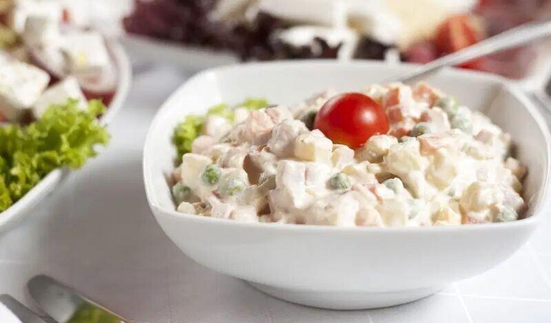 10. Оливье, или русский картофельный салат