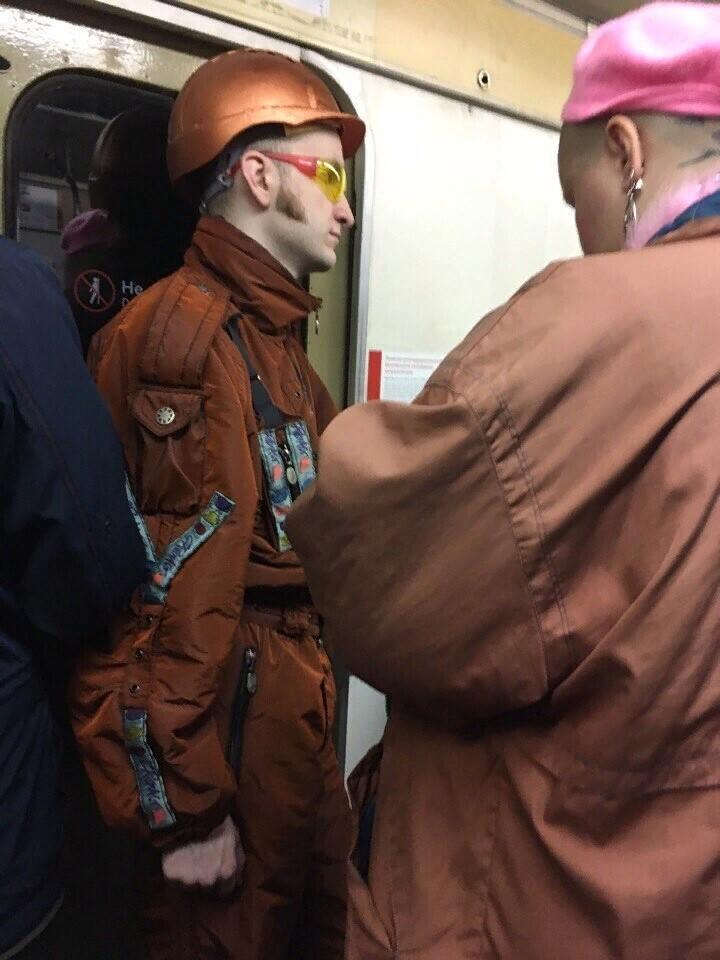 Очередные чудики московского метро