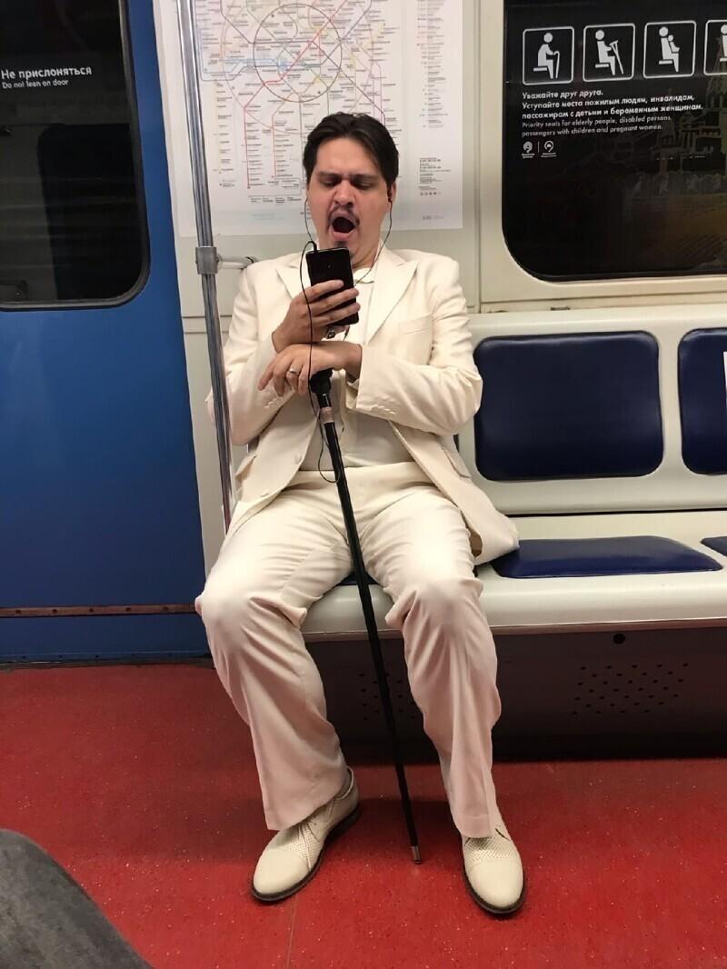 Утро в московском метро