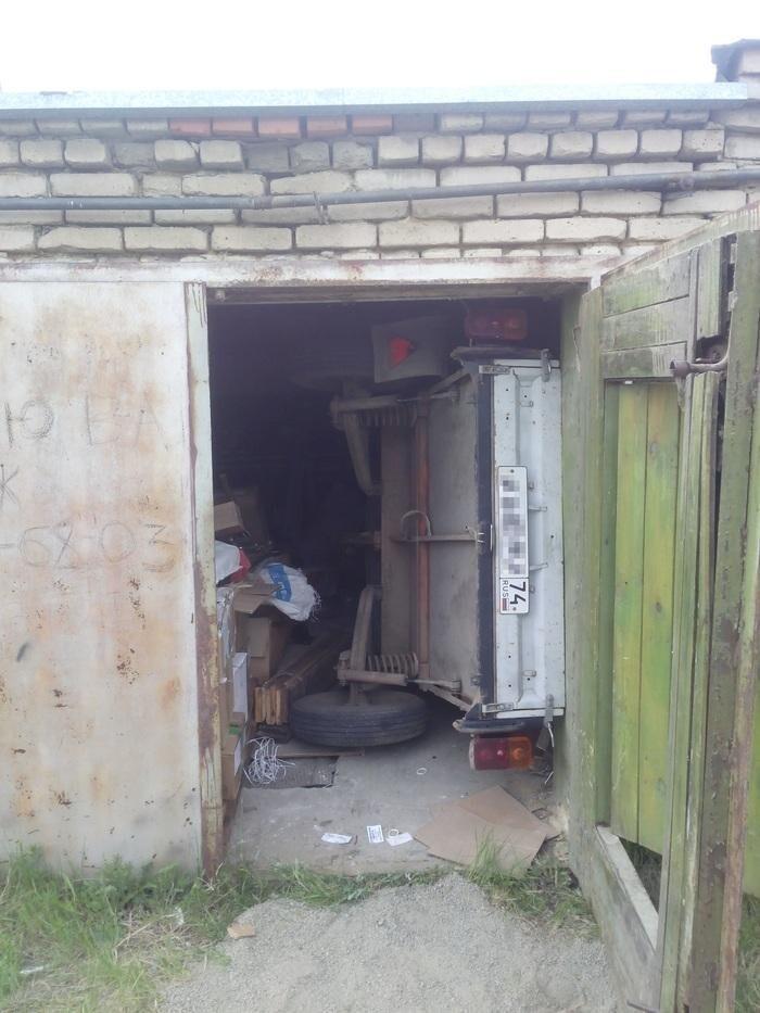 Даже маленький гараж — это хорошо