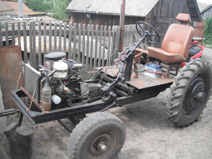 Трактор своими руками: смотрите и учитесь