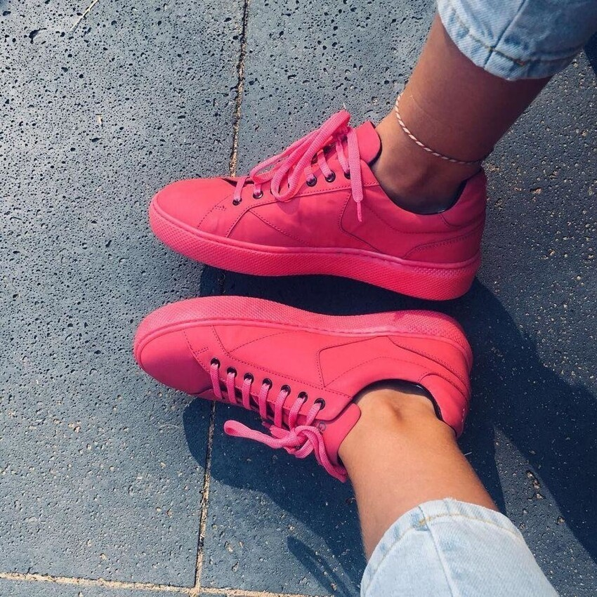 В Амстердаме запустили производство кроссовок из жевательной резинки