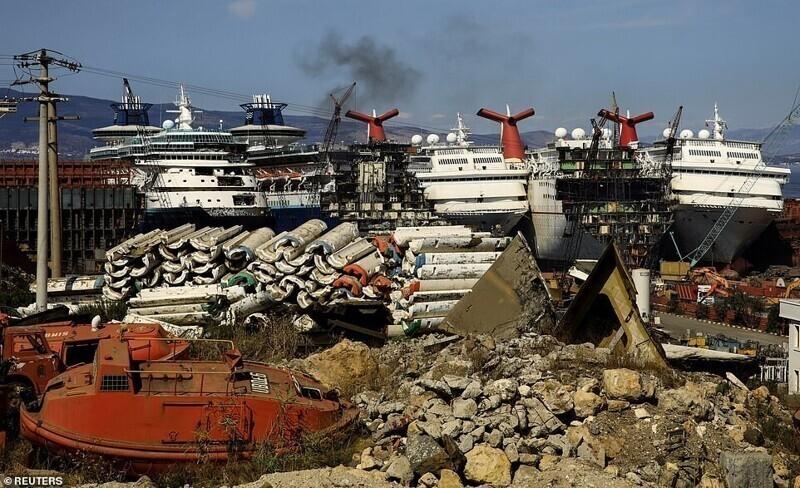 Ковид потопил мировую индустрию круизов