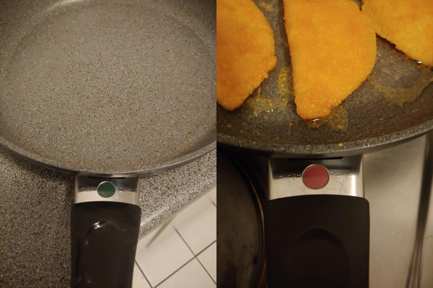 Сковородка с индикатором температуры
