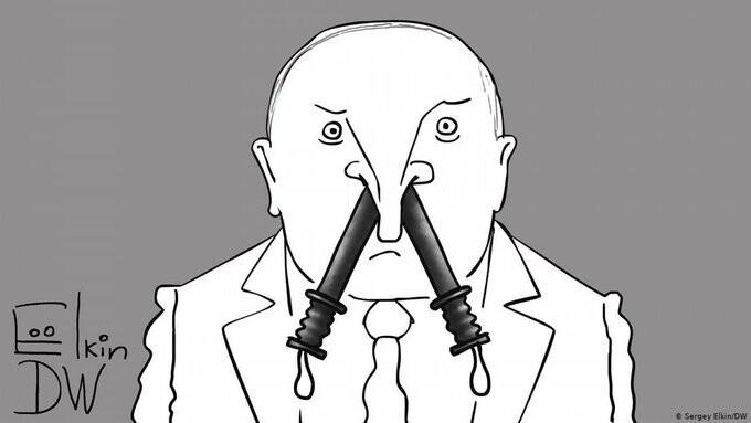 Так художники видят Лукашенко после жестких разгонов мирных митингов