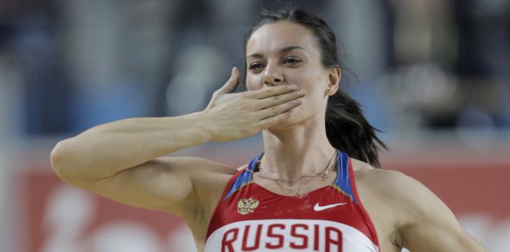 Елену Исинбаеву высмеяли за косноязычие