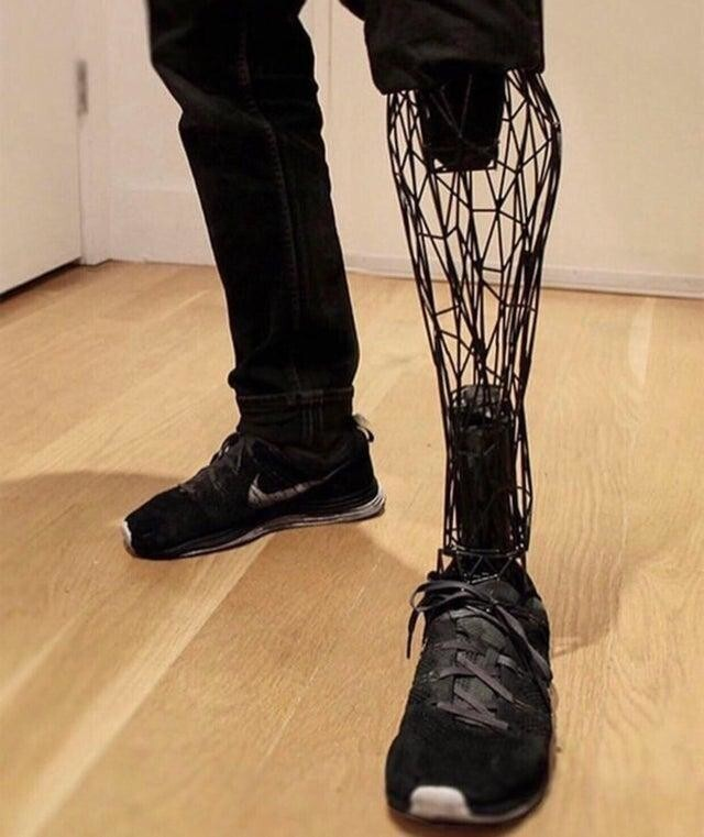 Протез, сделанный с помощью 3D-принтера