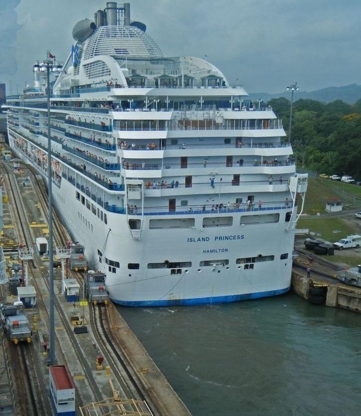 Круиз по Панамскому каналу
