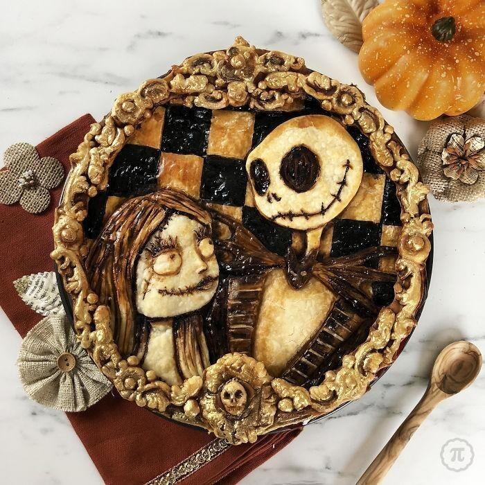 Встретим Хэллоуин подходящим пирогом