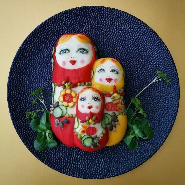 Когда твоя мама кулинар-живописец