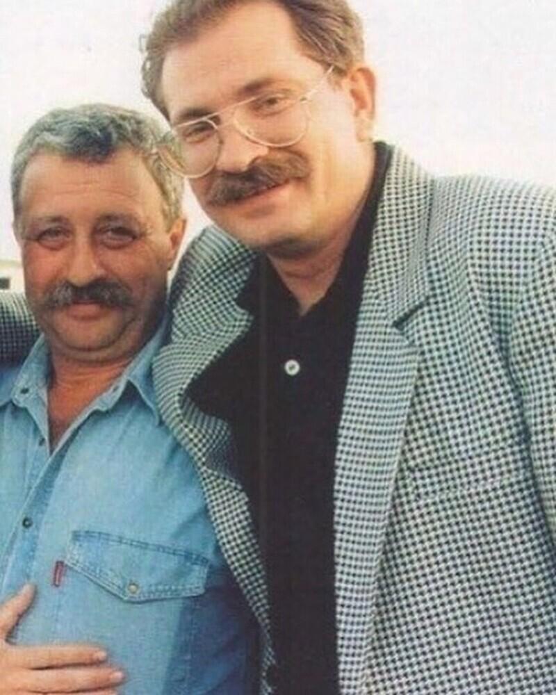 Леонид Якубович и Влад Листьев