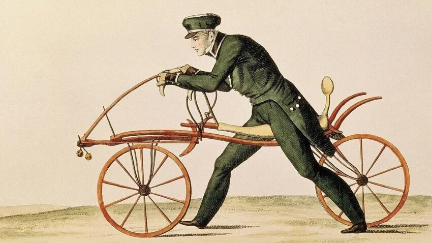 Хоть и запатентованный, но не велосипед