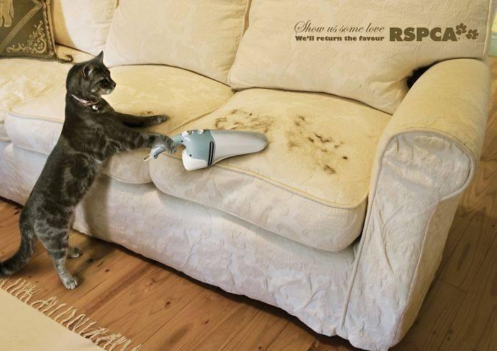 Реклама пылесоса для мебели