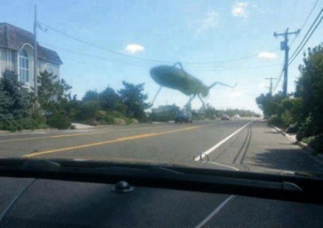 Гигантский жук сейчас разрушит город