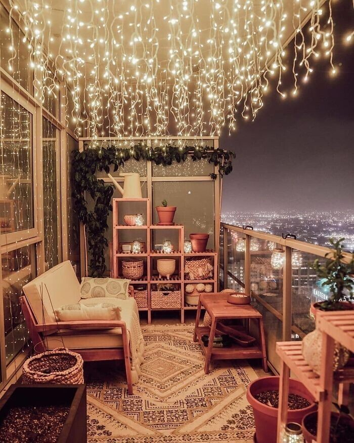 8. Уютный балкон