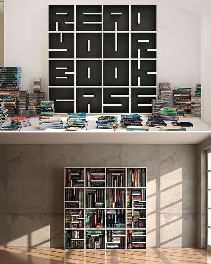 16. Книжный шкаф Read Your Book Case