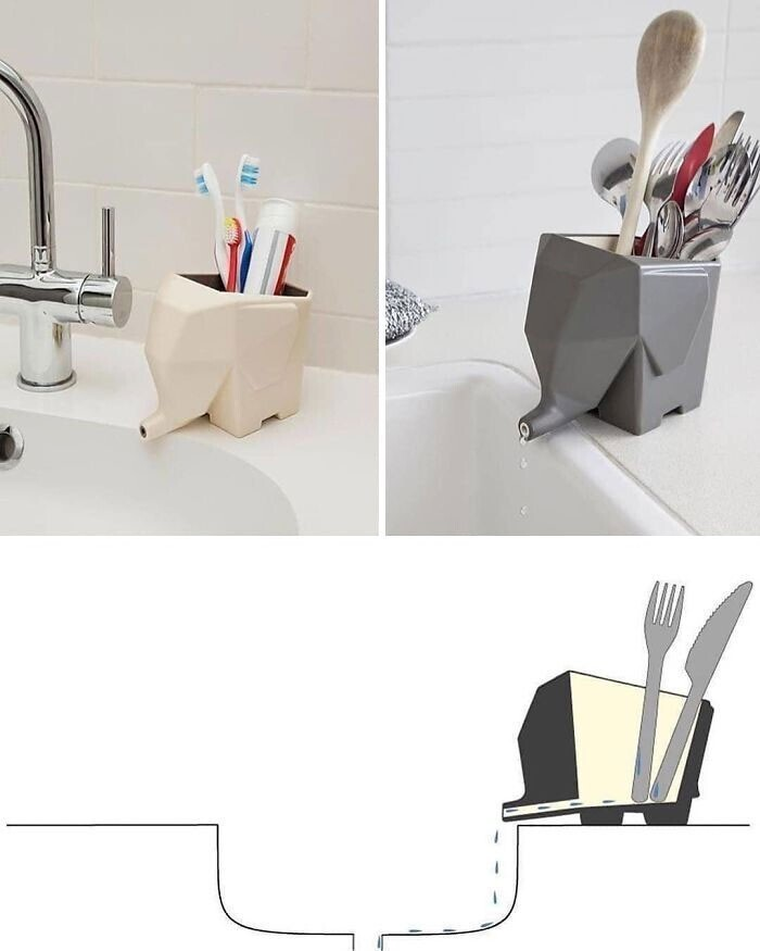 4. Сушилка для столовых приборов от Peleg Design