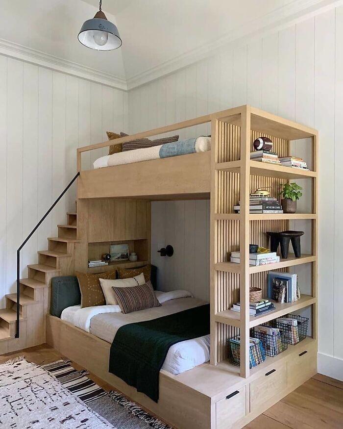 14. Замечательная двухъярусная кровать