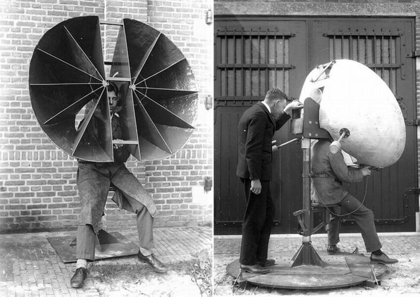 Эти средства звукового наблюдения использовались вплоть до Второй мировой войны, а затем начали уступать место появившимся радиолокационным станциям.