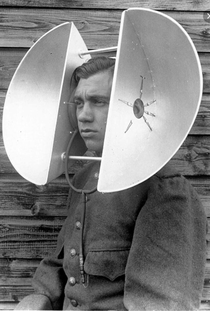 Прадедушка радаров: акустическая локация, позволяющая услышать приближение вражеской авиации