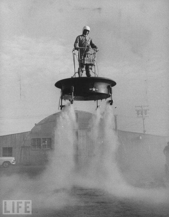 Вот вам предок современного флайборда из 1954 года