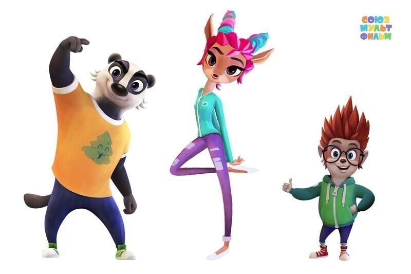 Кроме уже известных героев, в мультике появятся и новые персонажи